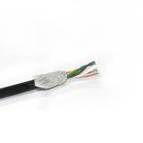 RVSP屏蔽线 3X2X0.3mm 步进电机编码黑色信号线加工