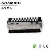ADAMICU亚当 vhdci连接器 公头68P 焊线式插接件