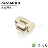 ADAMICU亚当厂家 双胞胎母座vhdci26pin连接器 90°插板接线端子